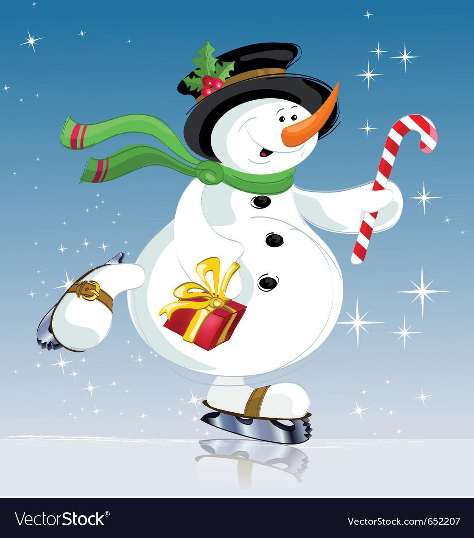 Snowman vector | Price: 3 Credit (USD $3)
