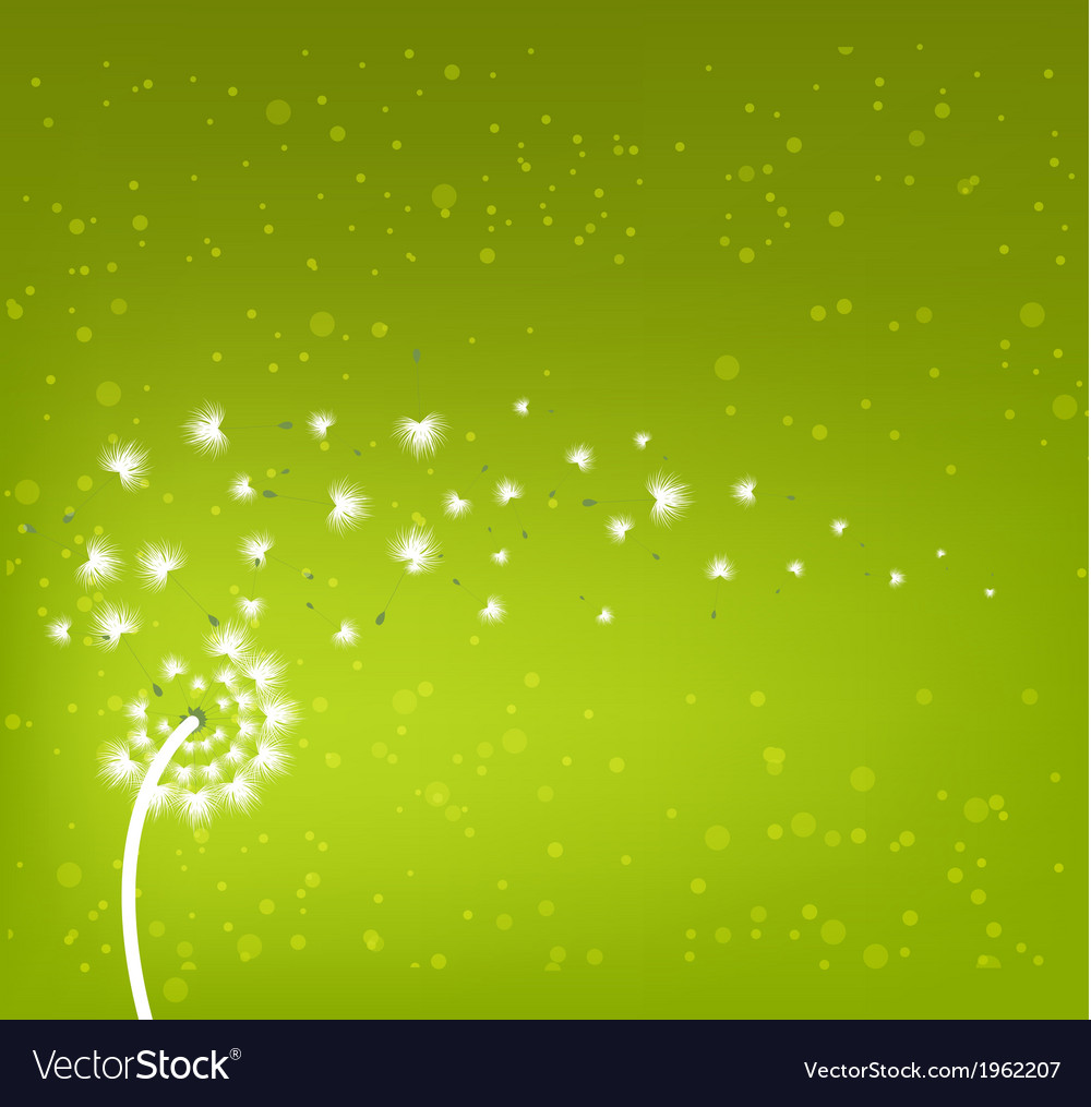 Spring flowers background vector | Price: 1 Credit (USD $1)