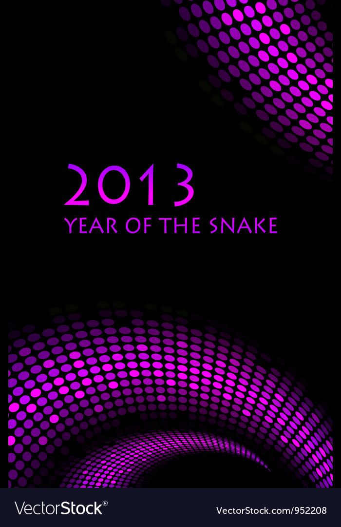 2013 snake purple frame vector   Price: 1 Credit (USD $1)
