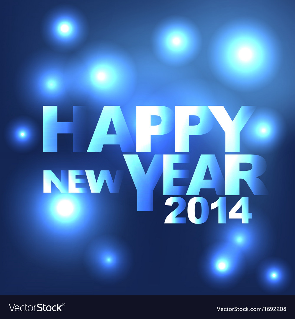 Abstract light happy new year background vector | Price: 1 Credit (USD $1)
