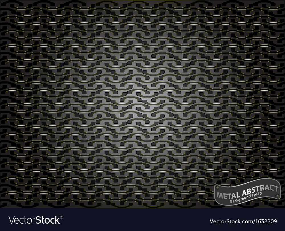 Metallic steel pattern abstract background vector | Price: 1 Credit (USD $1)