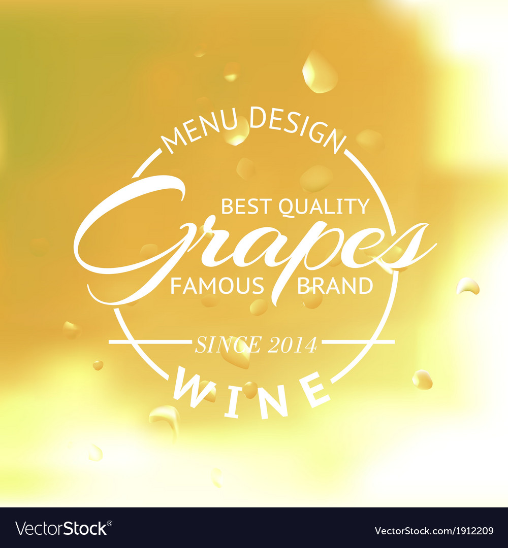 White wine glass and bottle vector | Price: 1 Credit (USD $1)