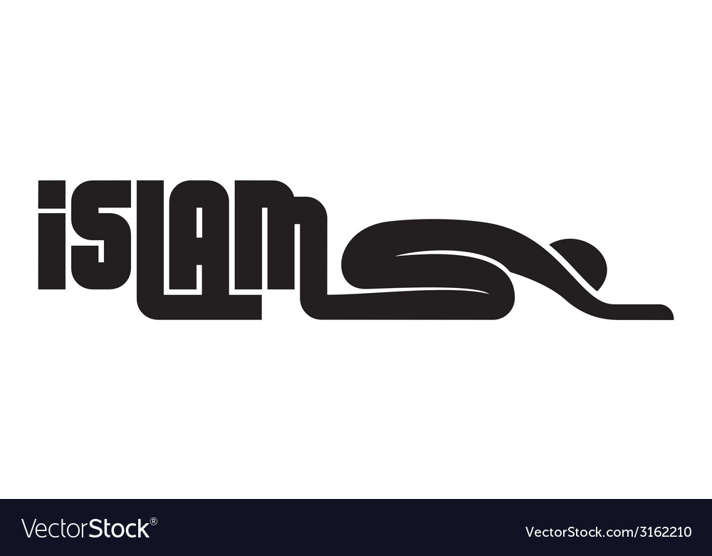 Islam muslims2 resize vector | Price: 1 Credit (USD $1)