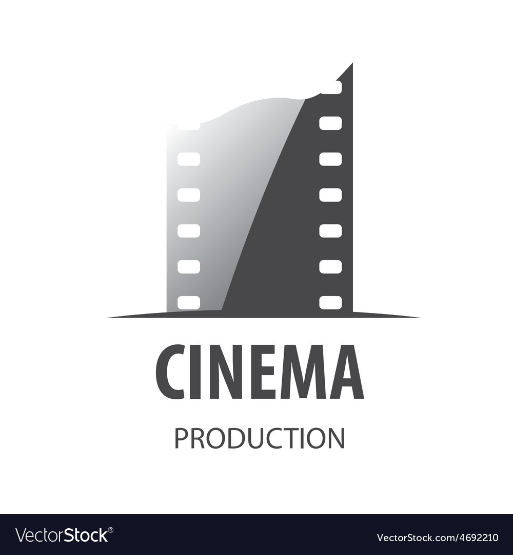 Logo for videotape film production vector | Price: 1 Credit (USD $1)
