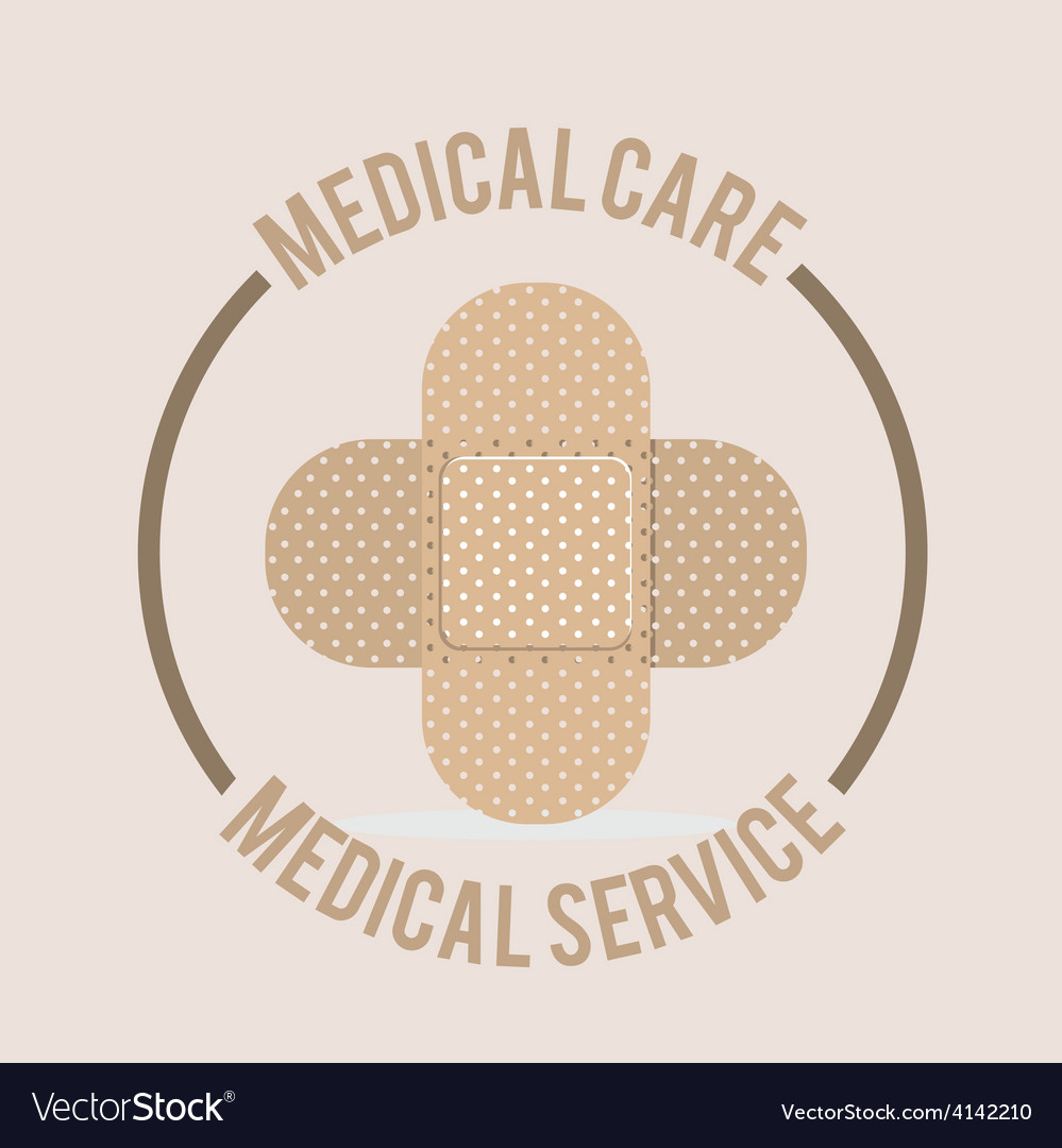 Medical care design vector | Price: 1 Credit (USD $1)