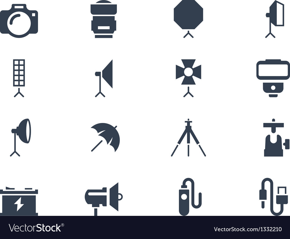 Photo icons vector | Price: 1 Credit (USD $1)