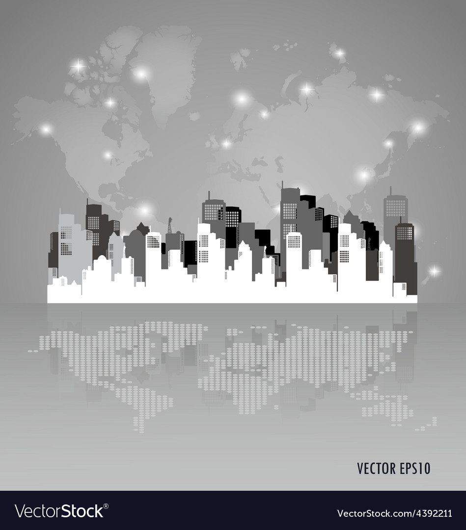 Creative building design template for your company vector | Price: 1 Credit (USD $1)