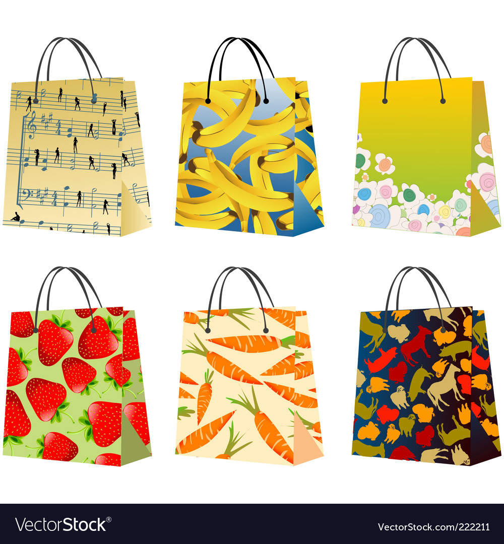 Shopping bags vector   Price: 1 Credit (USD $1)