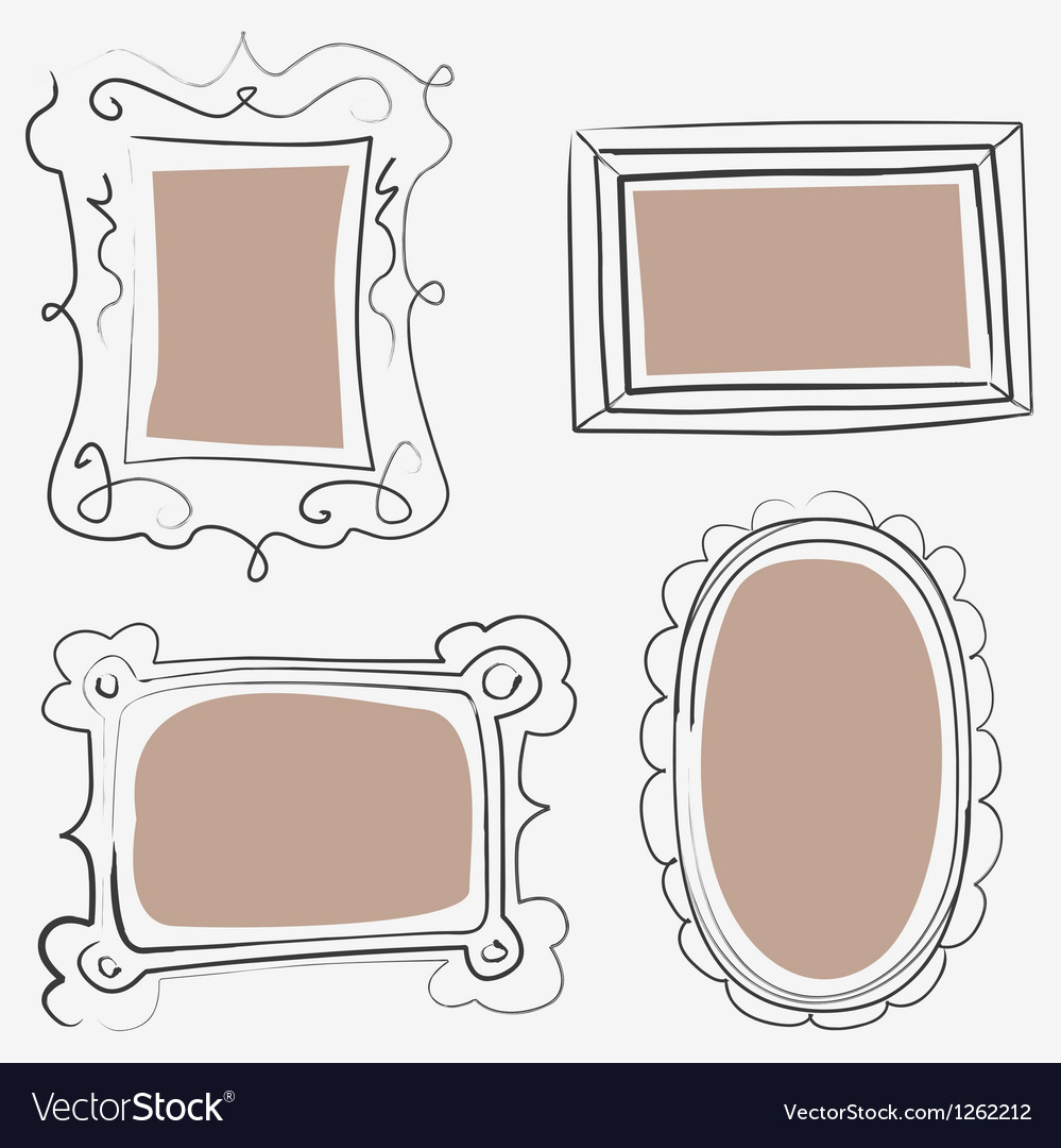 Art frames vector | Price: 1 Credit (USD $1)