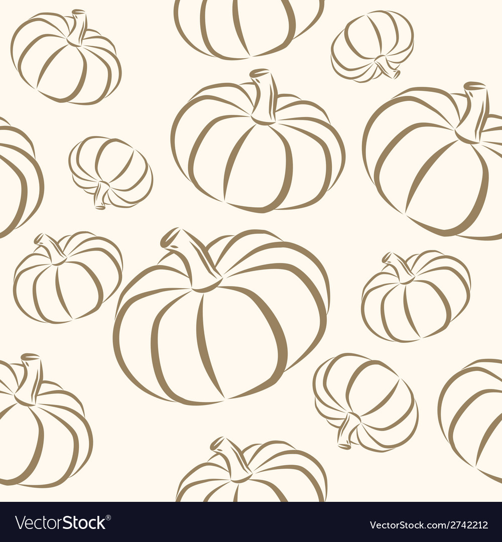 Seamless halloween background vector | Price: 1 Credit (USD $1)