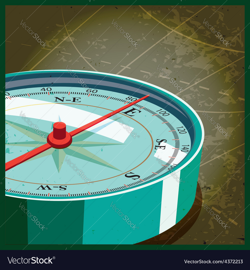 Compass east vector | Price: 1 Credit (USD $1)