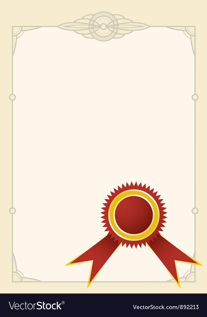 Diploma stamp vector | Price: 1 Credit (USD $1)