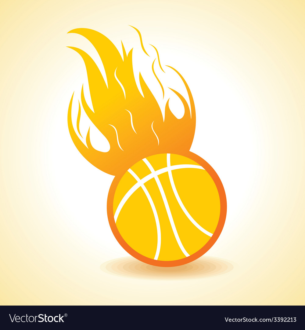 Fire ball concept vector | Price: 1 Credit (USD $1)