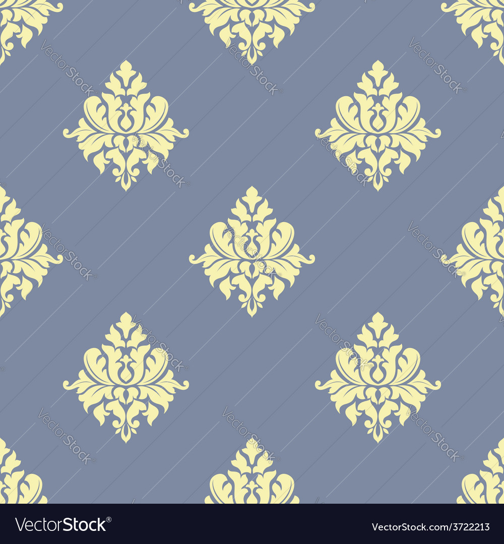 Sparse pattern of seamless victorian styled floral vector | Price: 1 Credit (USD $1)