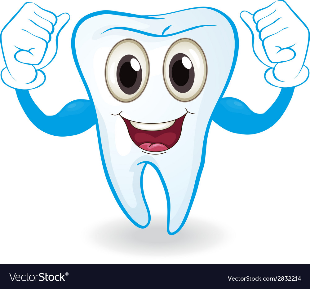 A strong tooth vector | Price: 1 Credit (USD $1)