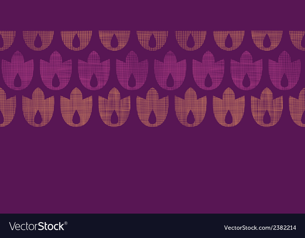 Abstract textile geometric tulips stripes vector | Price: 1 Credit (USD $1)
