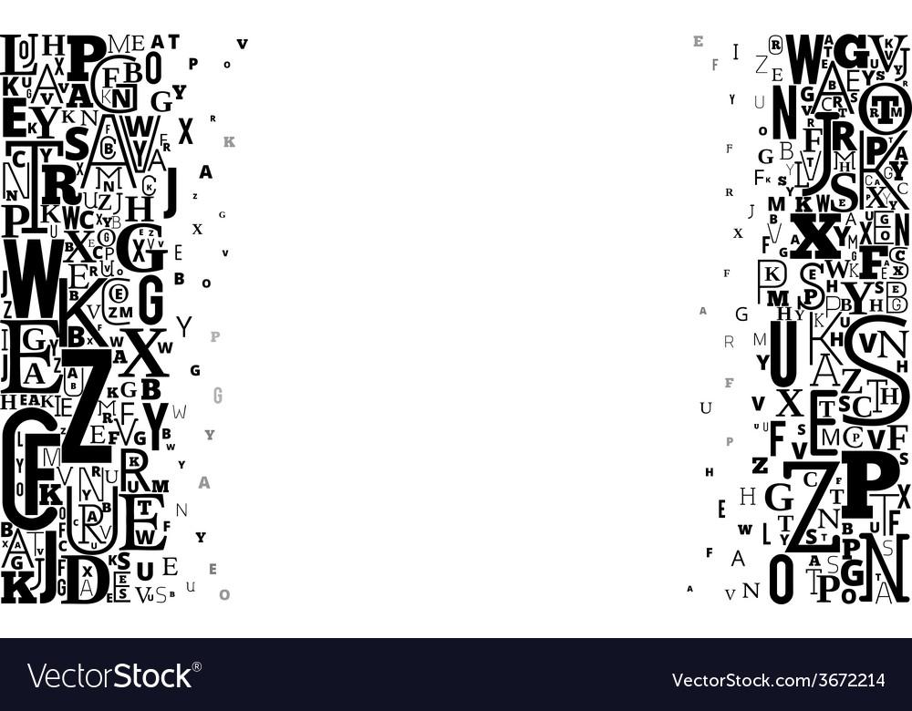 Alphabet background vector   Price: 1 Credit (USD $1)