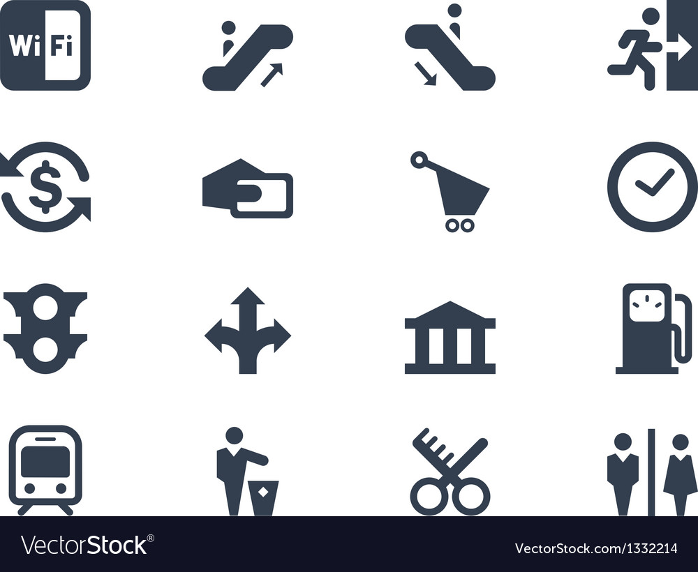 Public icons vector | Price: 1 Credit (USD $1)