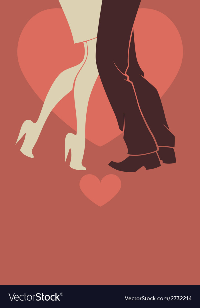 Romantic dancing vector | Price: 1 Credit (USD $1)