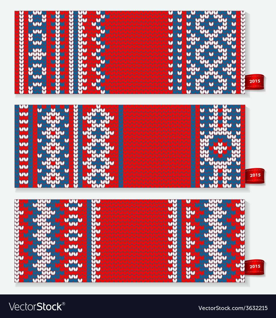 Beautiful christmas set of banners with lace vector   Price: 1 Credit (USD $1)