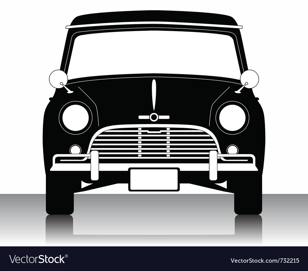 Car silhouette vector | Price: 1 Credit (USD $1)