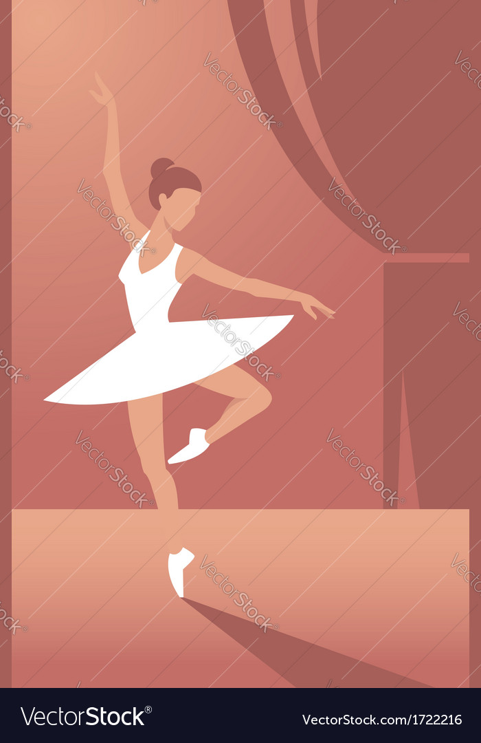 Ballerina1 vector | Price: 1 Credit (USD $1)