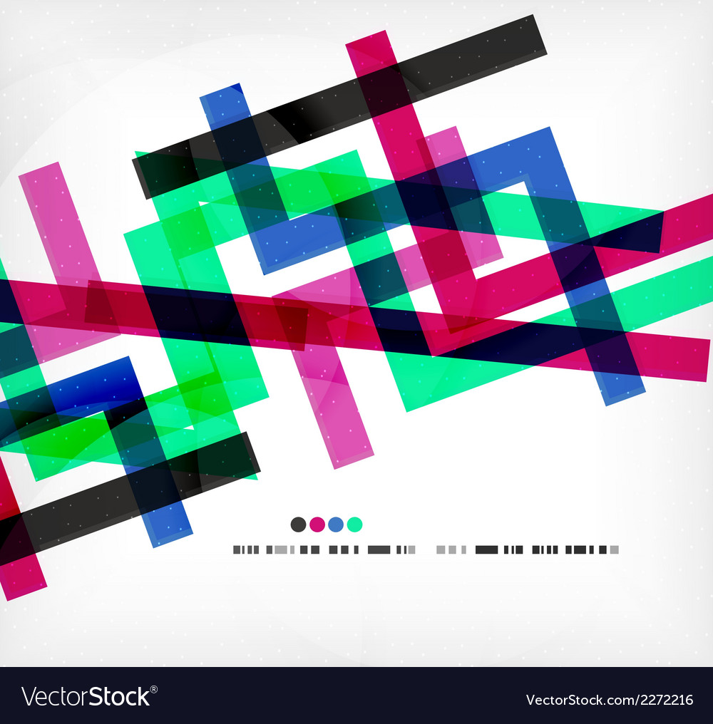 Bright colorful business flowing shapes design vector | Price: 1 Credit (USD $1)