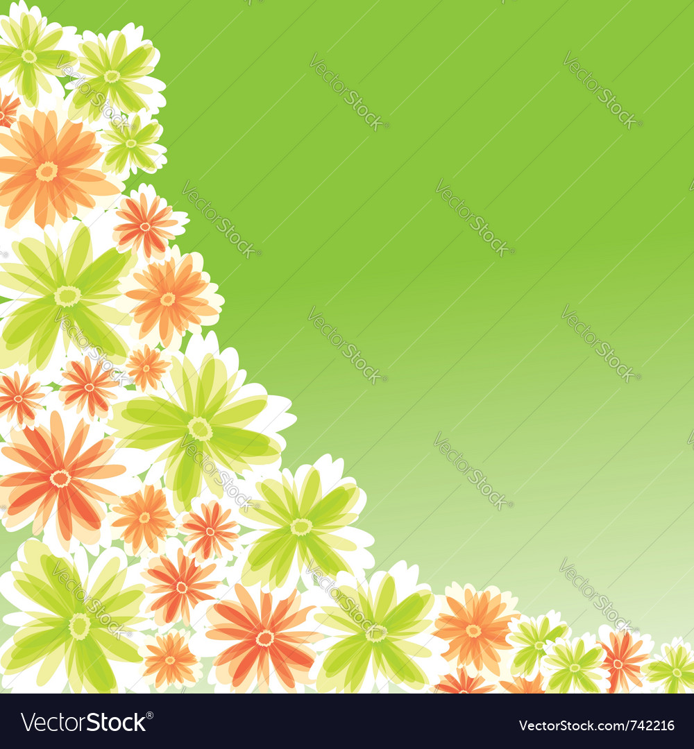 Flower for card design vector | Price: 1 Credit (USD $1)