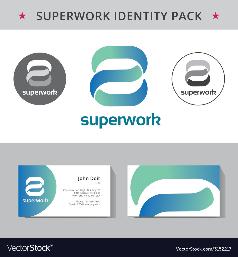Abstract identity concept logotype template for vector | Price: 1 Credit (USD $1)