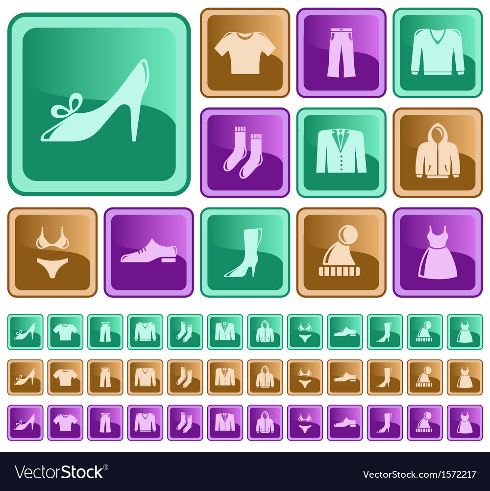 Clothes buttons vector   Price: 1 Credit (USD $1)