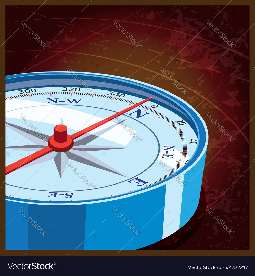 Compass north vector | Price: 1 Credit (USD $1)