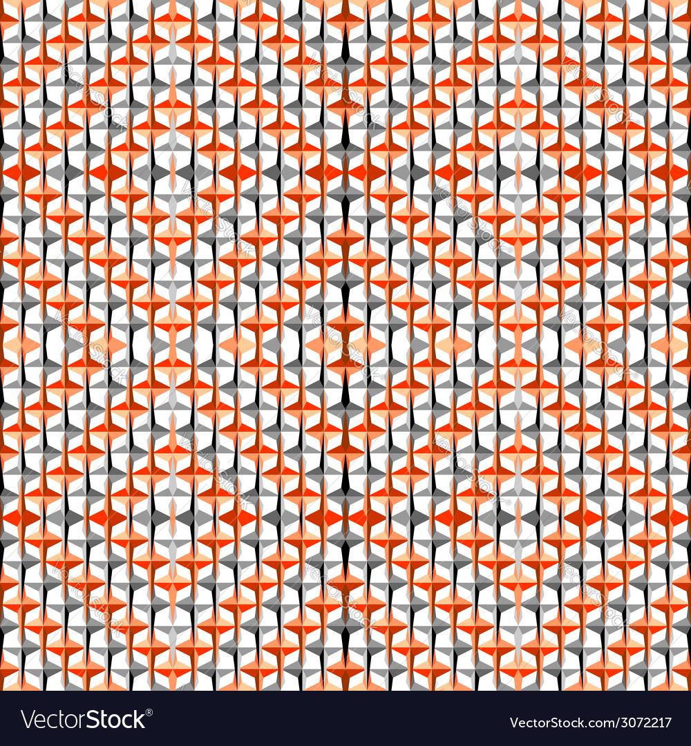 Design seamless colorful diamond pattern vector | Price: 1 Credit (USD $1)