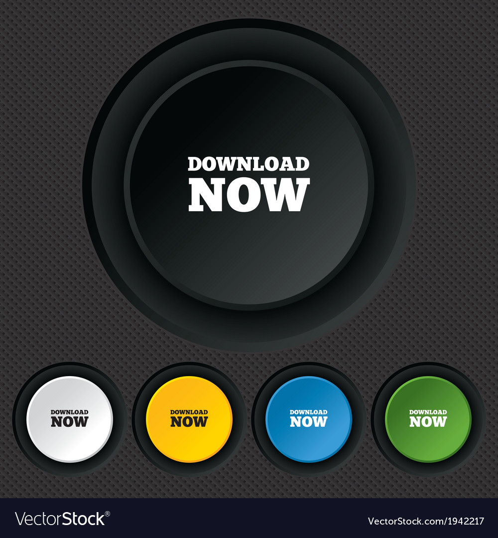 Download now icon load button vector | Price: 1 Credit (USD $1)