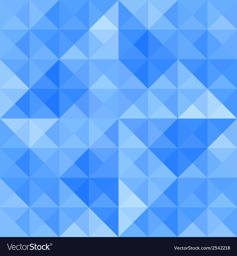 Blue triangle background9 vector | Price: 1 Credit (USD $1)