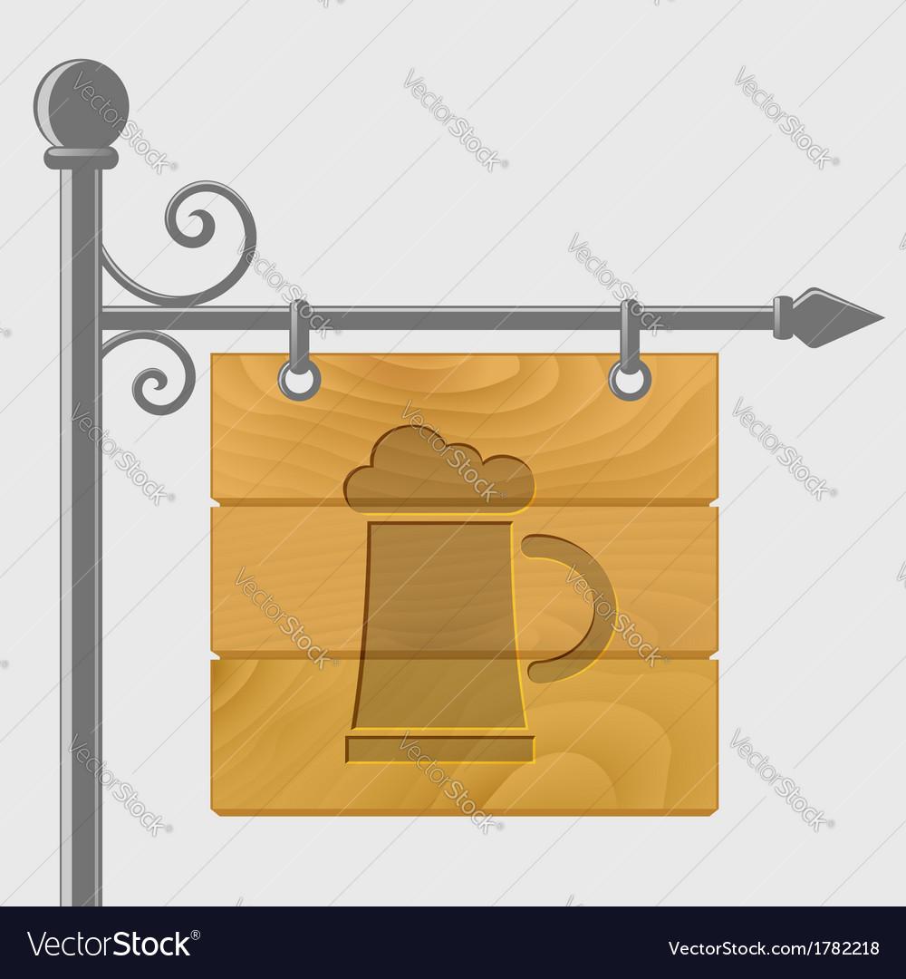 Mug of beer vector | Price: 1 Credit (USD $1)