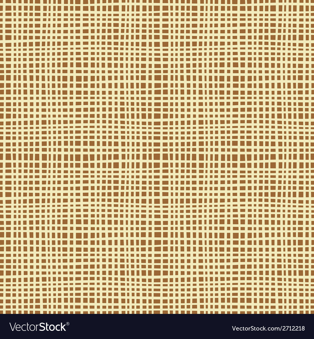Seamless background texture of canvas vector   Price: 1 Credit (USD $1)