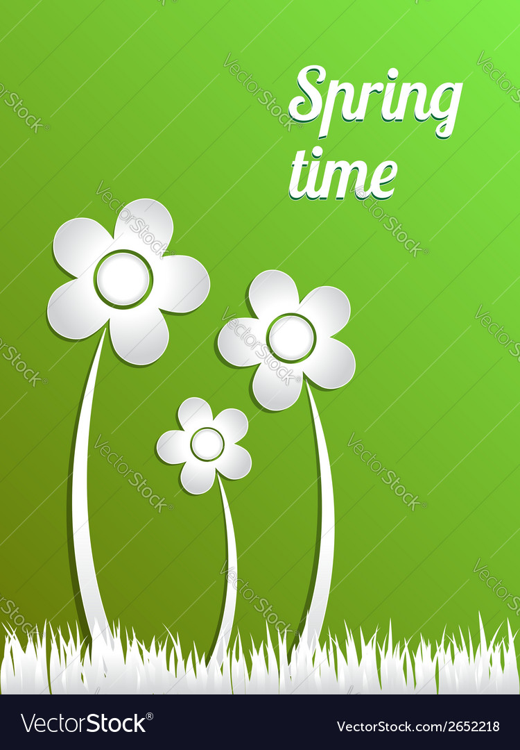 Spring time concept vector | Price: 1 Credit (USD $1)