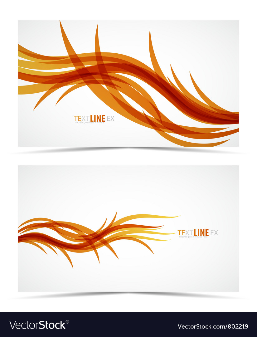 Abstract wave lines vector | Price: 1 Credit (USD $1)