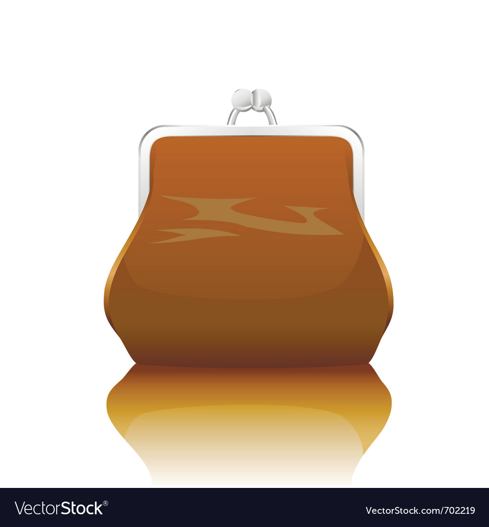 Old-fashioned purse vector | Price: 1 Credit (USD $1)