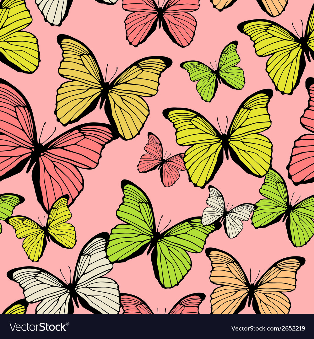Seamless pattern with decorative colorful vector   Price: 1 Credit (USD $1)