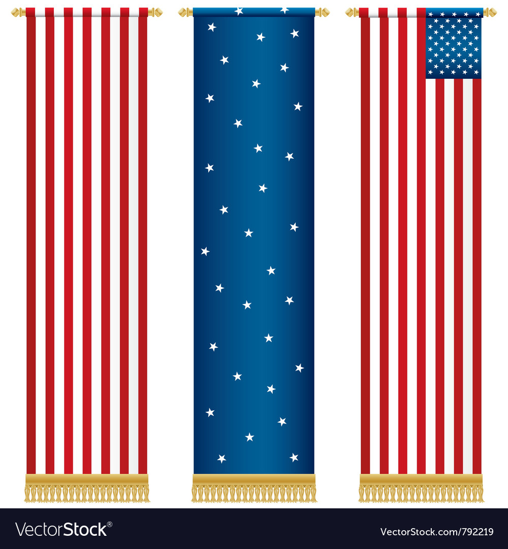 Usa wall hangings vector | Price: 1 Credit (USD $1)