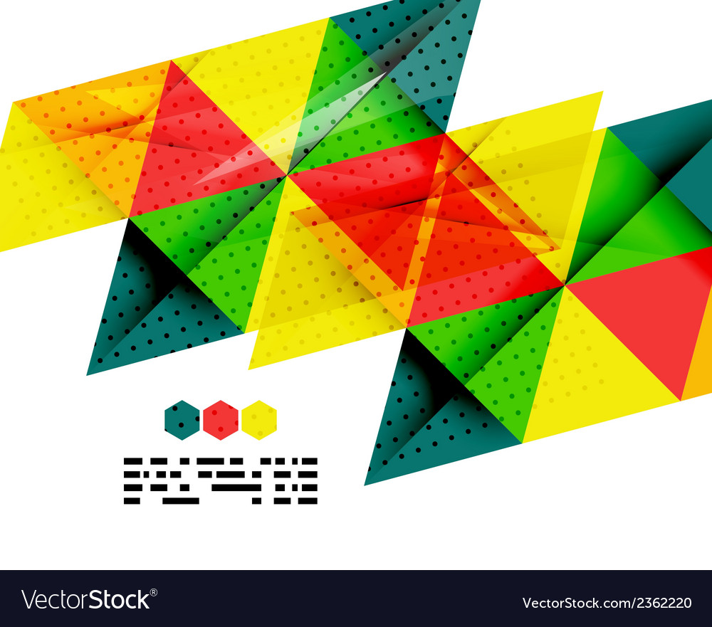 Geometric background in brazil flag concept vector | Price: 1 Credit (USD $1)