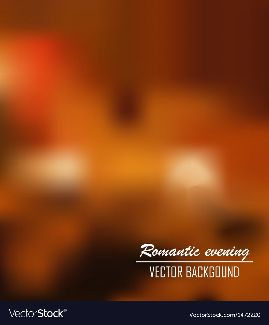 Romantic evening background vector | Price: 1 Credit (USD $1)