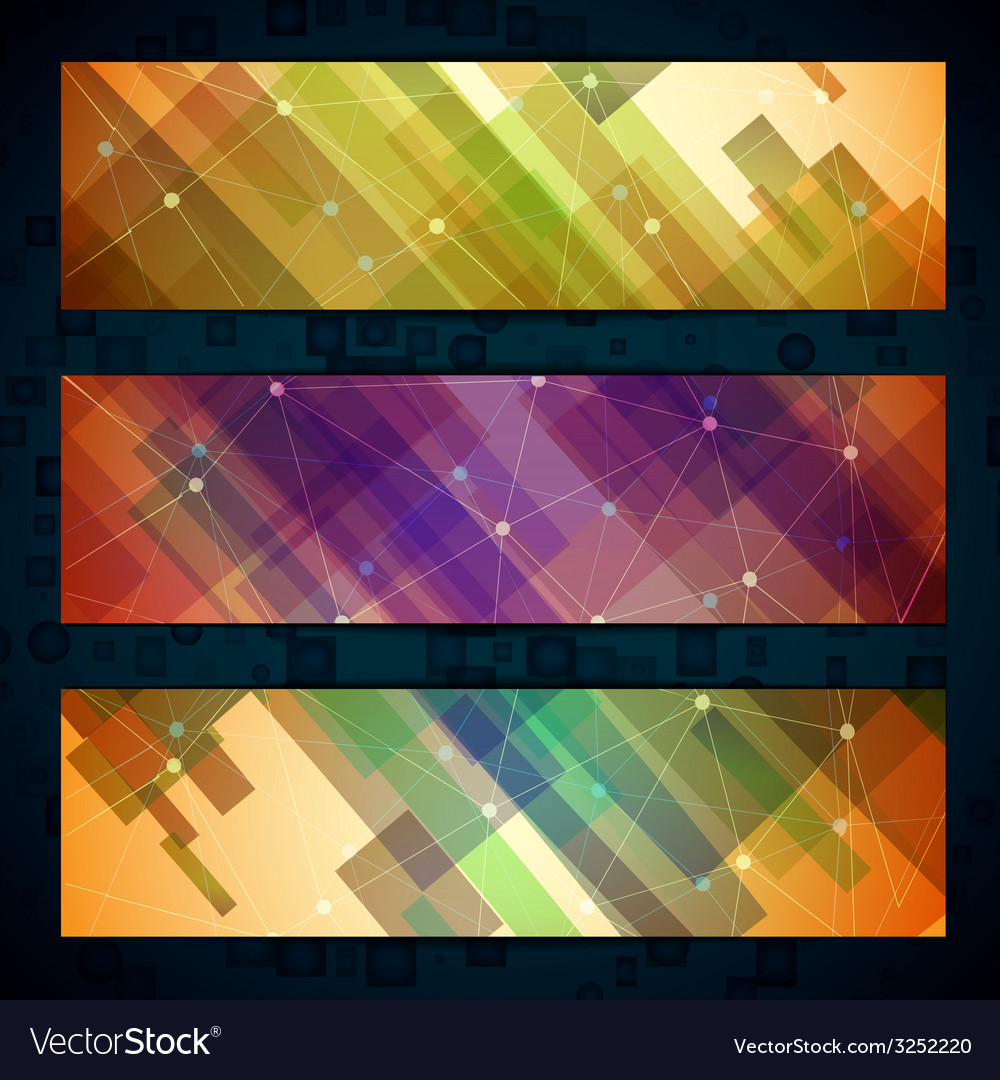 Set of light straight lines abstract background vector | Price: 1 Credit (USD $1)