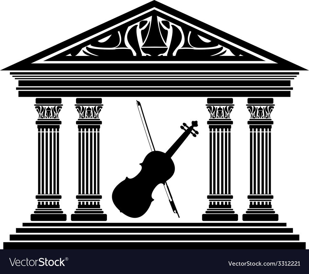 Concert hall vector | Price: 1 Credit (USD $1)