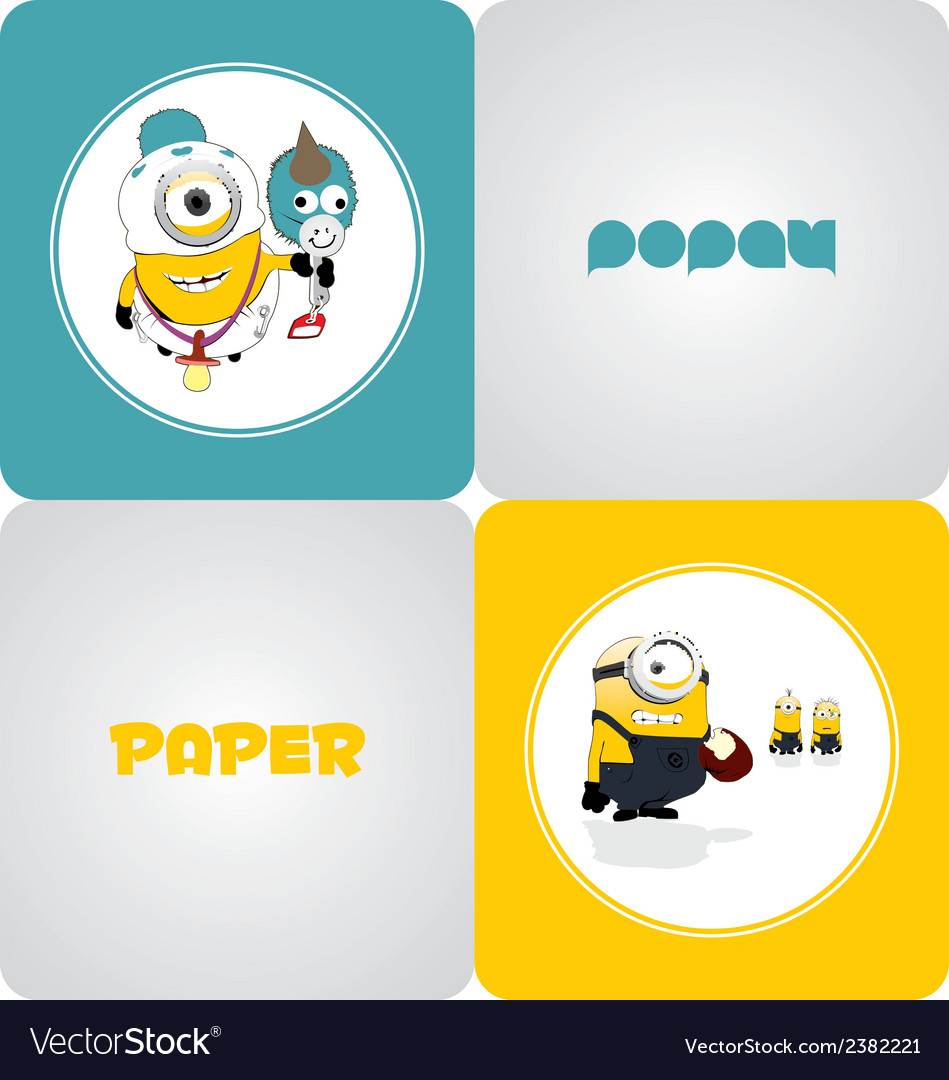 Minions vector | Price: 1 Credit (USD $1)