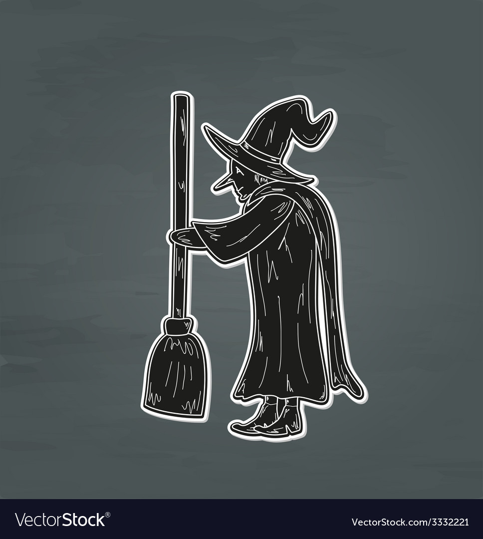 Old witch vector | Price: 1 Credit (USD $1)
