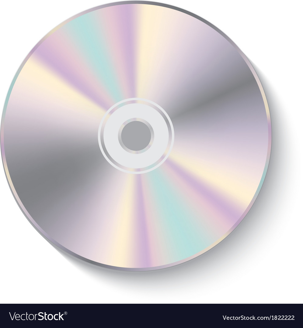Cd disk vector | Price: 1 Credit (USD $1)