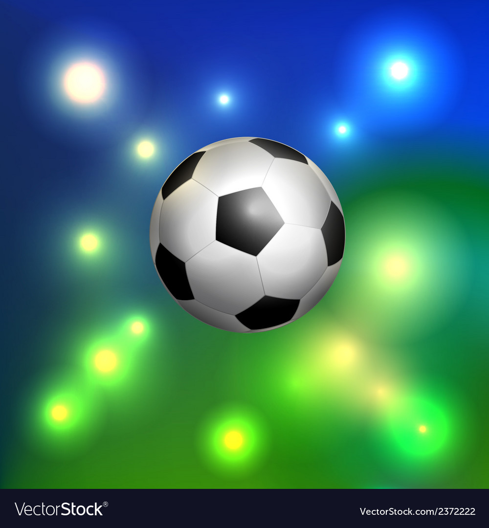 Classic soccer ball vector | Price: 1 Credit (USD $1)