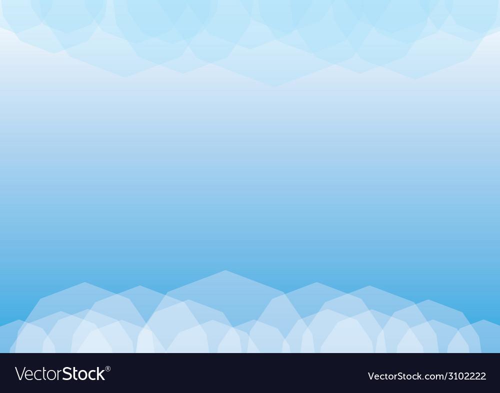Poligonal background vector